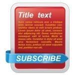 Vector web design template — Stock Vector #3929583