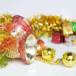 Christmas bells decoration New Year's ornaments — Stock Photo #4177633