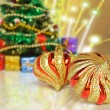 Stock Photo: Christmas Tree and toys