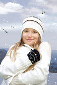 Cold winter — Stock Photo