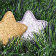 Christmas star toys — Stock Photo