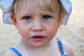 Litlle dziewczyna — Zdjęcie stockowe