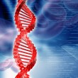 Digital illustration of DNA — Stock Photo