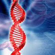 Stock Photo: Digital illustration of DNA
