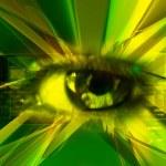 Eye scan — Stock Photo