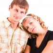 Stock Photo: Young domestic pair