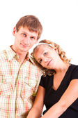 Young domestic pair — Stock Photo