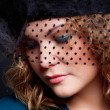 Stock fotografie: Charming womin hat