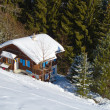 Winter holiday house - Lizenzfreies Foto