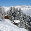 Winter holiday house - Foto Stock