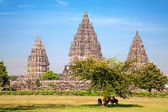 Hindu temple Prambanan — Stock Photo