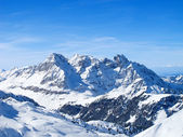 Winter in alps — Stockfoto