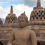 Borobudur temple in Indonesia — Stock Photo