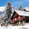 Winter in alps — Stock Photo #4925543