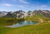 Paisagem alpina de verão — Fotografia Stock