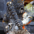 Traditional balinese sculpture — Stock Photo