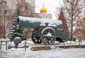 King-cannon (Tsar-pushka) in Kremlin. — Stock Photo