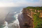 Rocky beach on Bali — Stock Photo