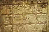 Aztec stone carving — Stock Photo