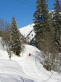 Winter in the alps — Foto de Stock