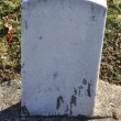 Stock Photo: Cemetery Grave Marker