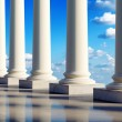 Ancient columns in clouds — Stock Photo #4815307