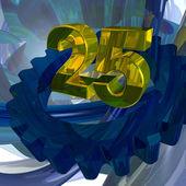 Twenty five — Stock Photo