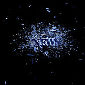News explosion — Stock Photo