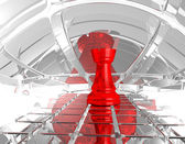 Chess rook — Stock Photo