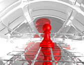 Chess pawn — Stock Photo