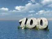 One hundred — Stockfoto