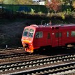 Stock Photo: Red train