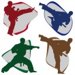 Symbol Martial ARTS. - Stock Photo