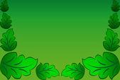 Beautiful leaf on background.Vector.EPS — Stock Photo