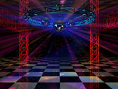 Dance floor — Stock Photo