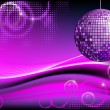 Disco-ball background - Stock Vector