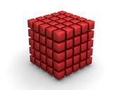 Cube Bing Bang — Stock Photo