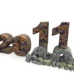 3D an inscription 2011 — Stock Photo #3940009