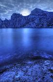 The night sea — Stock Photo