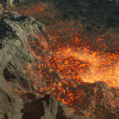 Lava in mountain — Stock Photo