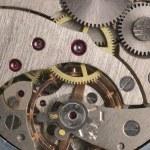 Mechanism of analog hours — Stock Photo #4192876