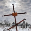 Old cross — Stock Photo #4192921