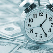 Time - money. Business concept. — Foto de Stock