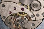 Mechanism of analog hours — Stock Photo