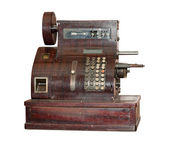 Ancient cash register — Stock Photo