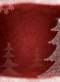 Christmas abstract fur-tree — Stock Photo