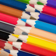 Stock Photo: Background from color pencils