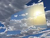 Zonnepanelen — Stockfoto