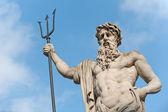 Statua neptun — Zdjęcie stockowe