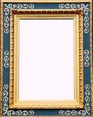 Cadre photo or antique — Photo